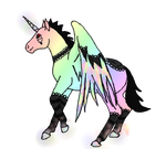 Aliacorn: Sparkle'd Wing by Experimentor-Iblis