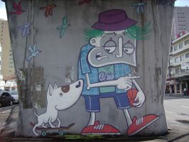 Graffiti in Carandiru by WgnrGui