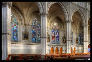 St Joseph's Cathedral 6 by shadowfoxcreative