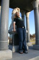 Blonde in the Cemetery - 2 by SafariSyd