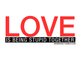 Love is stupid by divzz