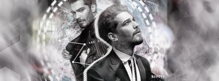 Cagatay Ulusoy Facebook Cover by BuseGG