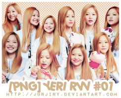 [PNG] Yeri Red Velvet By.junjiny #01 by JUNJINY