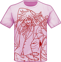 Grell Shirt Design by ArtistMeli