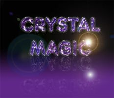 Crystal Magic by BMCreations