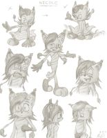 NICOLE concept sketches by MorayK
