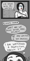 HOLMES LOVES WATSON: THE MOVIE by fish-puddle