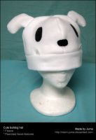 Cute bulldog hat by Neon-Juma