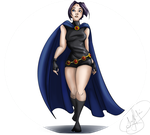 Quickpaint Raven by FantasyDreamLand13