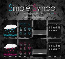 Simple Symbol by Nh0cTyler