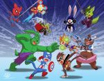 Pet Avengers Vs Teen Titanimals by Coshi-Dragonite