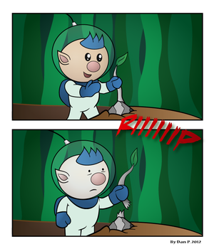 Pikmin 3 - It'll grow back...right? by Warbot40