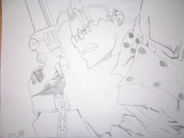 Vash the Stampede by AelVampire