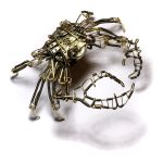 Steampunk Crab Sculpture by CatherinetteRings