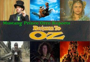 Mustang Prince Orro Reports Return To Oz by montey4
