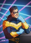 nightwing circa 93 by m7781