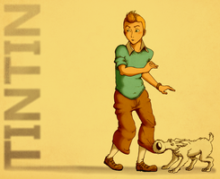 Tintin by guimero64