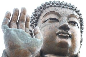 The Buddha by thexpression