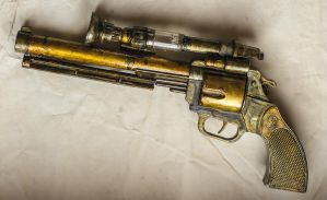 Steampunk gun by FraterOrion