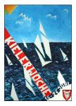 Futuristic Poster for the Kieler Woche by xcEmUx