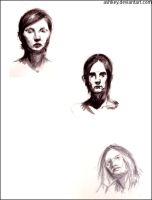 Some faces by ashkey