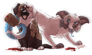 Blood Puppies by Toucat