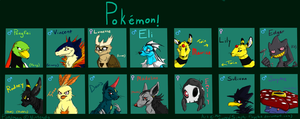 Pokemon by Simply-Psycho