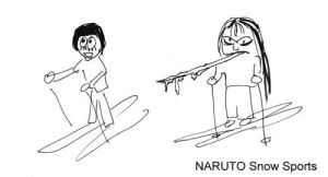 Naruto Snow Sports by Liliana-Claire