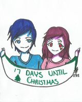 17 Days Until Christmas by Blade-Of-Ash