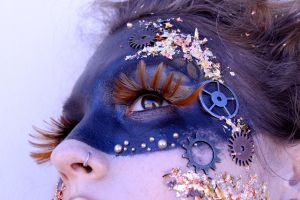 Avant Garde Makeup 2 by crummywater