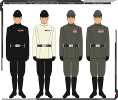 Star Wars - Imperial Officer Uniforms by Tounushifan