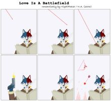 Love Is A Battlefield by nightphaser