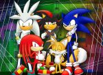 Sonic and Co. by ine-rocks