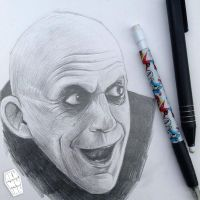 Uncle Fester by akumuink
