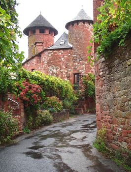 Collonges 26 - Twin towers by HermitCrabStock