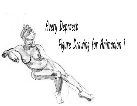 Figure Drawing Book Semester 2 page 1 by 24movements