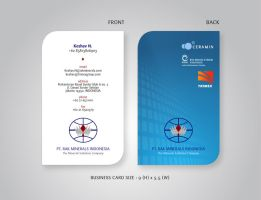 Keshav Business Card by kn33cow