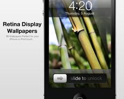 Retina Display Wallpapers by city17