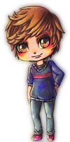 Chibi Luis Commission by MarianVLG
