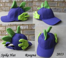 Spike the Dragon Hat by Roogna