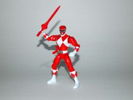 Mighty Morphin Red Ranger Action Hero by LinearRanger