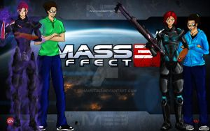Mass Effect  (Ms.H Gift Art) by bahamut357