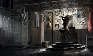 Show Girl Interior by AlexJJessup