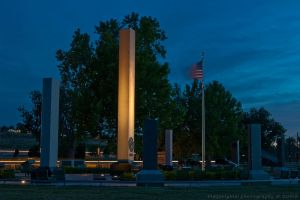 memorial under lights by bimjo