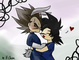 Chibi Easter by xH-Chanx