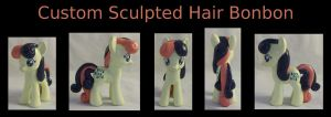Custom Sculpted/Hard Hair Bonbon by Gryphyn-Bloodheart