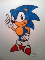 Classic Sonic by Mace66VW