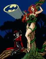 Harley and Ivy by impmtm2