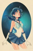Sailor Mercury by Watertae