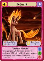 Solaris - Profile Card MLPMinis by MLPMinis